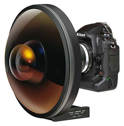 Nikon unique fisheye lens