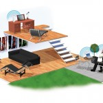 feature illustration wifi house