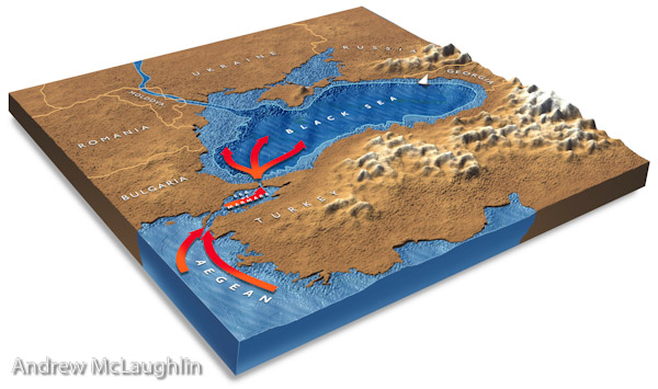 the dead sea geographic feature illustration