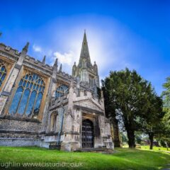 St Mary's church Saffron Walden Essex UK – HDR photographer