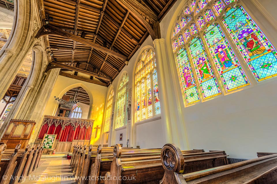 St Mary's church Saffron Walden Essex UK HDR photography andy mclaughlin tcistudio.co.uk - Buy a print of this image