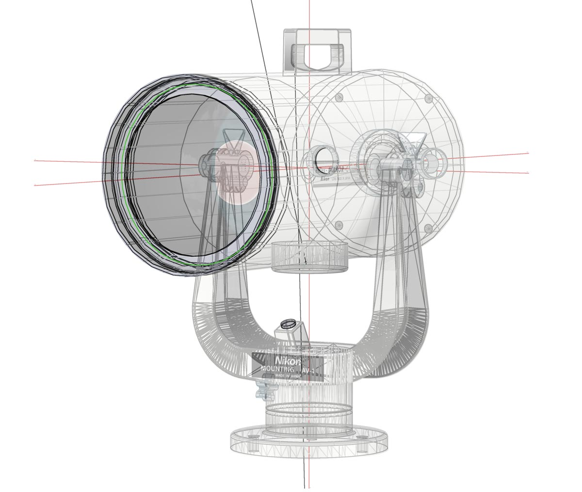 nikon illustration 2000mm lens