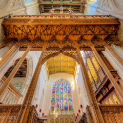 HDR photograph – Inside St Mary's church Saffron Walden