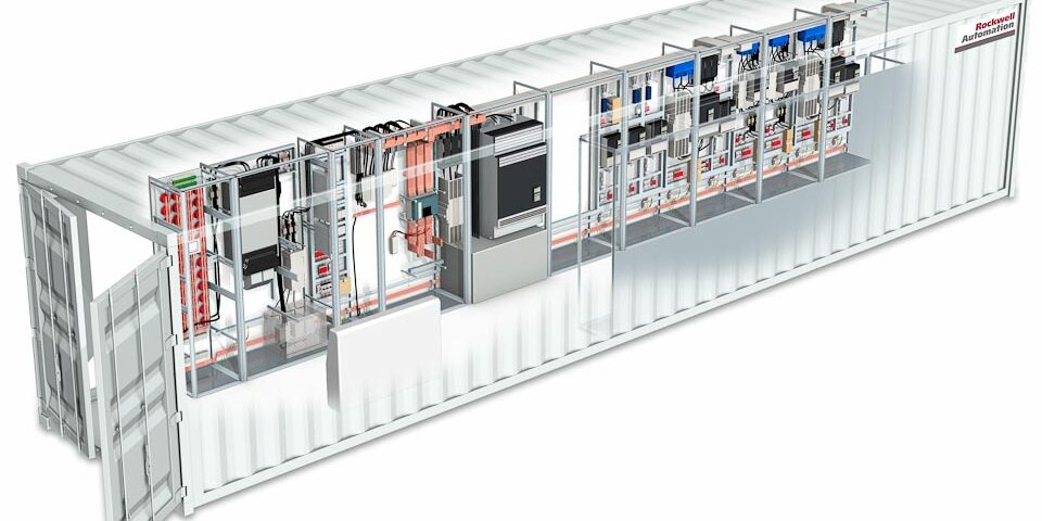 Technical Illustration for Rockwell Automation