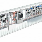 rockwell control unit 3d rendered illustration feature illustration
