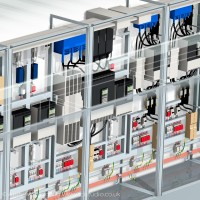 rockwell automation control unit 3d rendered illustration detail 7