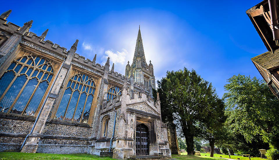 St-Mary's-Saffron-Walden-HDR photography feature image Buy a print of this image
