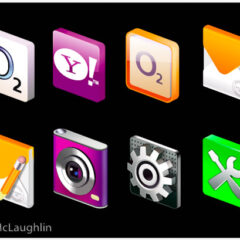 Vector icons for LG