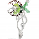brooch silver and enamel by Paul Spurgeon, photographed by Andy McLaughlin tcistudio.co.uk