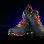 advertising photograph of Ecco biom shoe by Andy McLaughlin tcistudio creative services