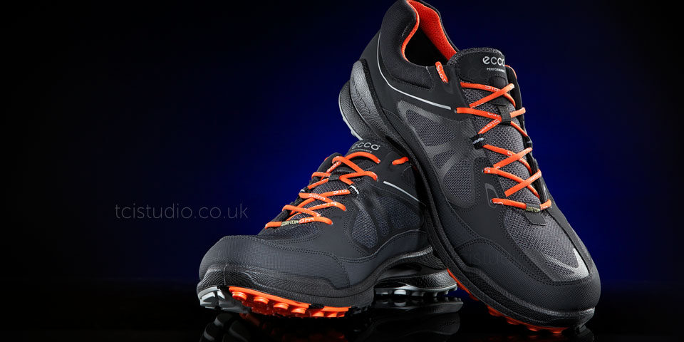 Shoe product shoot