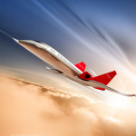 supersonic flight illustration for science uncovered magazine Andy McLaughlin tcistudio